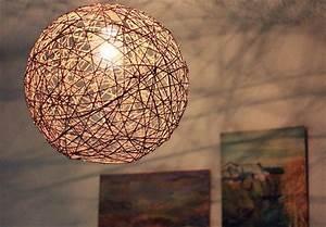 Fabriquer Un Abat Jour En Tissu : 6 tutos pour fabriquer une lampe originale ~ Zukunftsfamilie.com Idées de Décoration