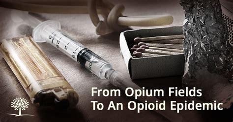 heroin facts history  opium fields   opioid