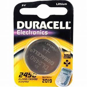 Duracell CR2450 3.0 V Lithium Battery (620 MAh) DL2450B B&H