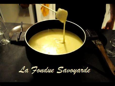 recette comment r 233 aliser la fondue savoyarde