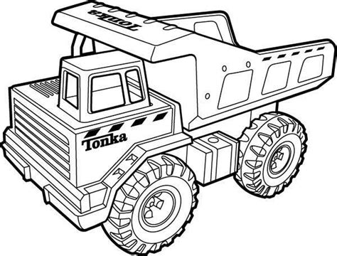restful drawings tonka truck monster truck coloring pages tonka truck tractor