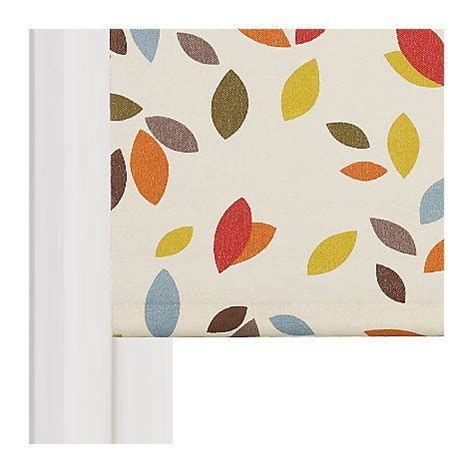 Kitchen Blinds At Lewis by Buy Lewis Scattered Leaves Daylight Roller Blind