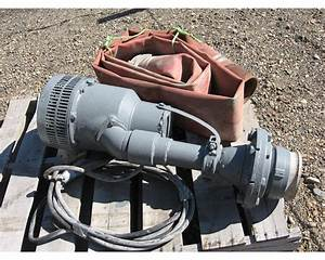 Flygt Submersible 8 2 Hp Pump For Sale