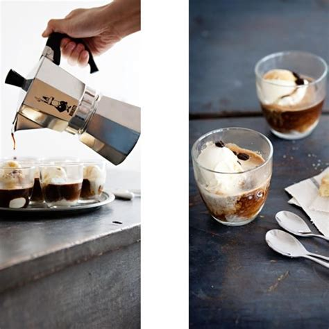 Wolff weekly vlogg 095   making a piccolo and mocha latte with tips and tricks to get the best presentation for both. Piccolo Affogato Al Caffe (With images)   Coffee drink recipes, Italian dinner, Food and drink