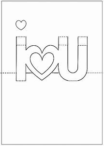 3d pop up card templates free - printable pop up cards pop up i love you card photo