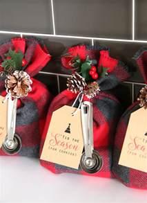 cookie mix gift sack easy diy christmas gift idea it s always autumn