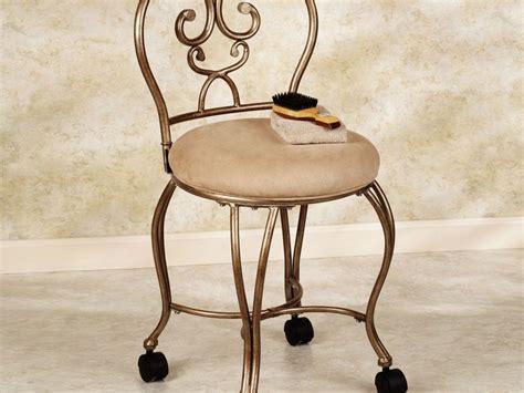 Bathroom Vanity Chair With Wheels by Bathroom Vanity Stool With Storage Home Design Ideas