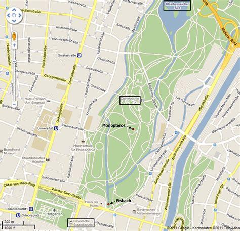Englischer Garten Munich Map by Photoblog Back To The Garden Home