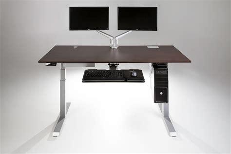 computer desks moddesk pro adjustable height standing desk multitable