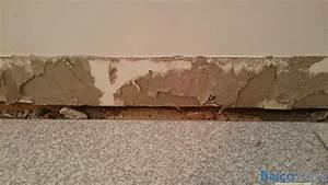 Enlever Carrelage Sur Placo : rebouchage apr s retrait plinthes carrelage ~ Dailycaller-alerts.com Idées de Décoration