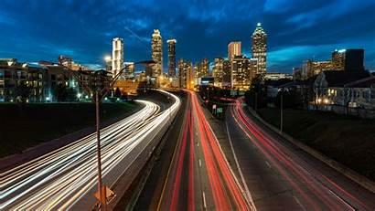 Laptop Wallpapers Desktop Atlanta Skyline Georgia 4k