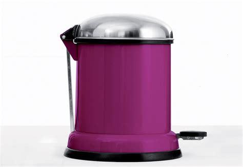 Pedal Bin 8l Purple Cut By Vipp Stylepark