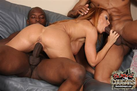 Mature Sex Mature Milf Interracial Threesome