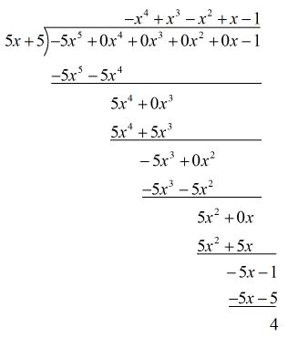 Polynomial Long Division Chilimath