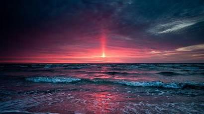 Sunset Wallpapers Ocean Sunsets Sand Purple Fun