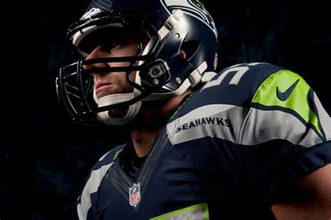 seahawks  uniforms seattles nike makeover foreshadows