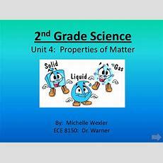2nd Grade Science Properties Of Matter Advanced Presentation