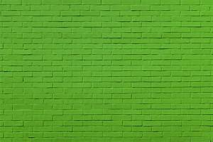 Photos Texture Green Brick Wall