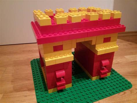 lego selber bauen lego 174 duplo triumphbogen selber bauen brickaddict bauideen