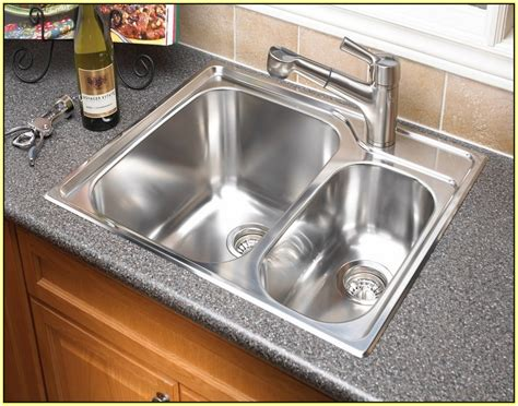 kitchen sinks top mount top mount sink on granite plantoburo 6094