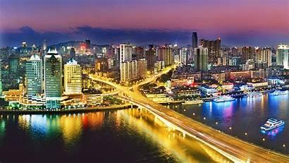 China Urban Guangzhou Nightlife 4k Night Wallpapers