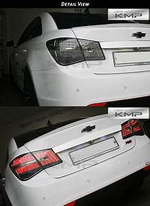 Black Edition Rear Trunk Led Tail Light Lamp Set For Chevrolet 2010