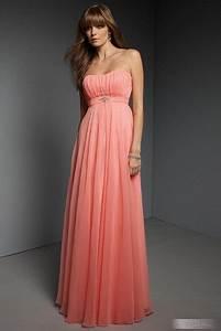Kleid Hochzeitsgast Lang : im genes de vestidos color coral ~ Eleganceandgraceweddings.com Haus und Dekorationen