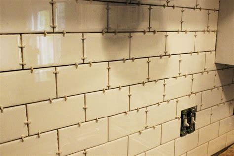 adhesive kitchen backsplash how to install a subway tile kitchen backsplash
