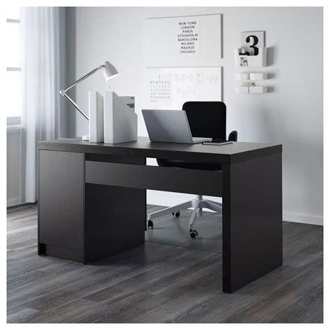 ikea black and white desk malm desk black brown 140x65 cm ikea