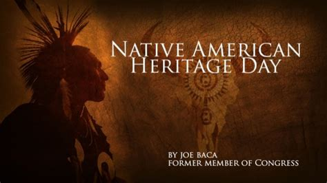 national native american heritage day printable