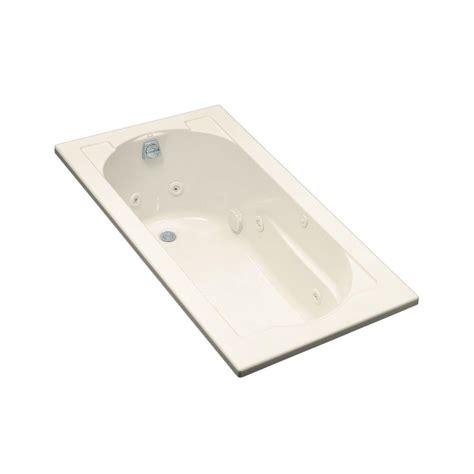 kohler devonshire 5 ft acrylic oval drop in whirlpool