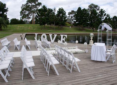 Nurragingy Reserve Wharf Wedding Ceremony Adorable