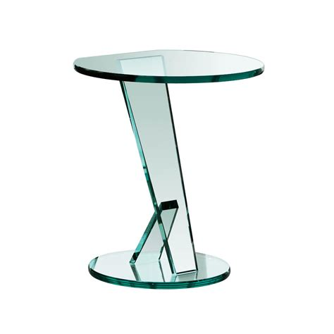 small glass side table nicchio small glass table klarity glass furniture
