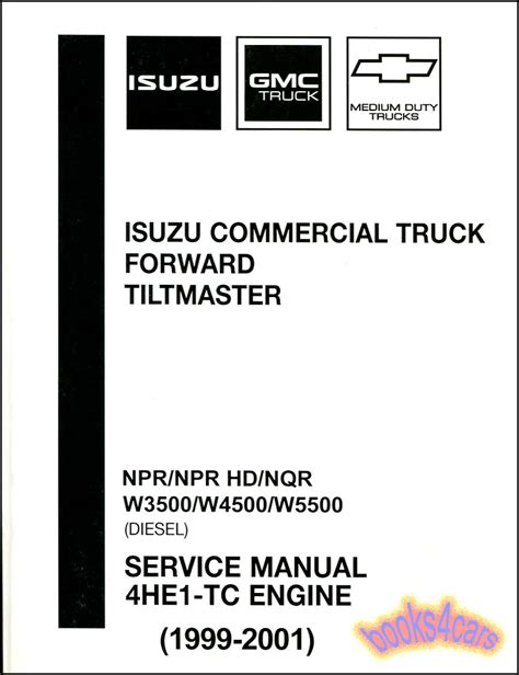 how to download repair manuals 2006 isuzu i 350 electronic throttle control isuzu npr shop manual diesel service repair book 4he1 tc hd nqr forward workshop ebay