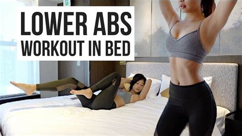 Best 10 Min Lower Ab Workout In Bed To Burn Belly Fat