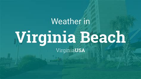 weather  virginia beach virginia usa
