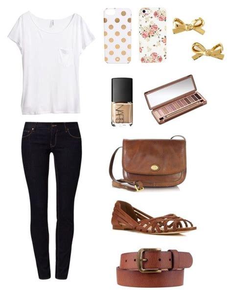 U0026quot;Simple outfit for school u2022 teens u2022 casual u2022 simple u2022 cuteu0026quot; by heyitsavee liked on Polyvore ...
