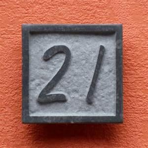 Plaque Numero De Rue : plaque num ro de rue en pierre naturelle smal avec num ro ~ Melissatoandfro.com Idées de Décoration