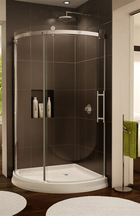 Curved Shower Door by Novara Arc Curved Glass Door And Panel Artistcraft