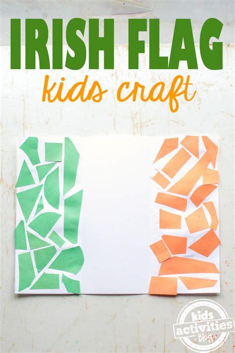 flag of ireland activity for st patricks day 618 | kids irish flag craft main