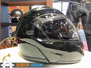 Casque Modulable Carbone : photos de casque modulable sur scooter system ~ Medecine-chirurgie-esthetiques.com Avis de Voitures