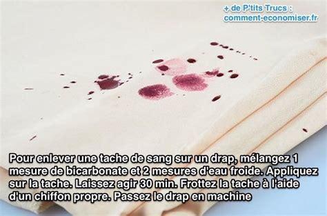 enlever taches de sang le secret pour enlever facilement une tache de sang sur un drap