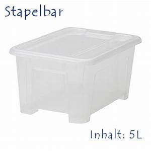 Ikea Kisten Plastik : aufbewahrungsboxen kunststoff mit deckel ikea der warenvergleich ~ Frokenaadalensverden.com Haus und Dekorationen