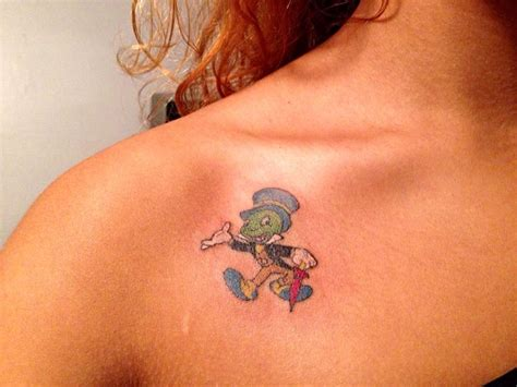 jiminy cricket tattoo tattoos tattoos jiminy