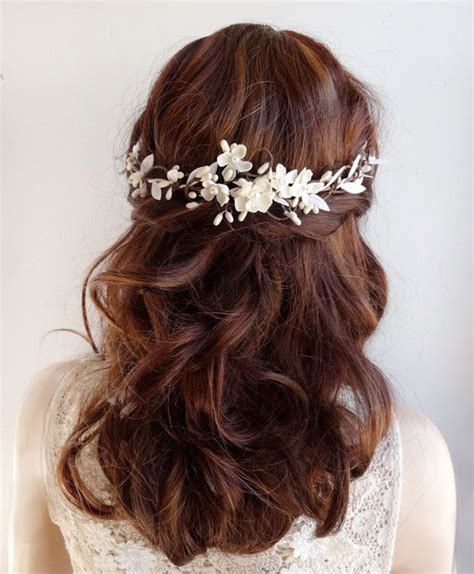 ideas  flower hair  pinterest simple