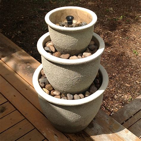 how to make a garden water feature home dzine garden ideas cool water feature for a hot garden