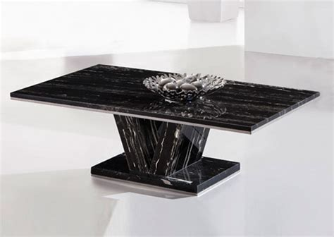 hera black marble  leg coffee table