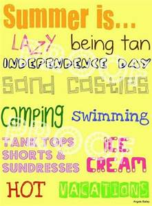 Quotes About Su... Fun Seasonal Quotes