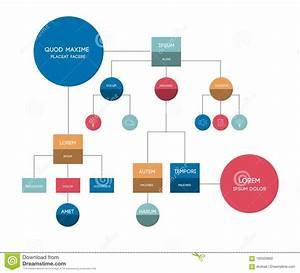 Flowchart  Template  Scheme  Diagram  Infographic  Stock