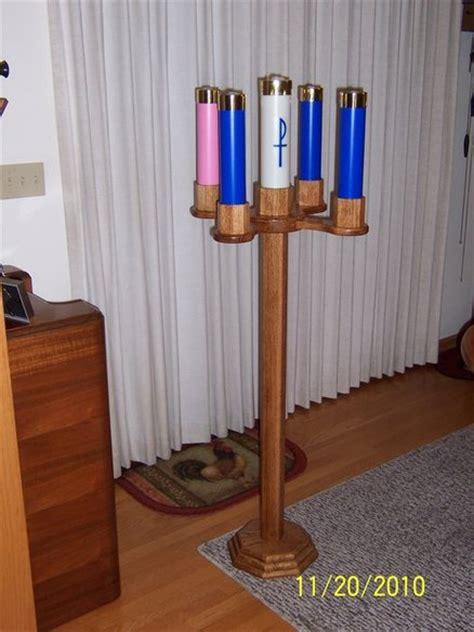 oak advent candle stand  randy moseley  lumberjocks